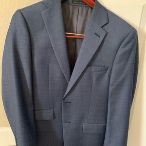 Calvin Klein navy suit